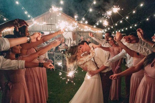 Casamento rústico ao ar livre_ Sara e Matheus